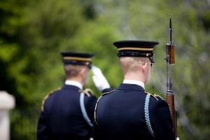 Soldiers serve as Honor Guard